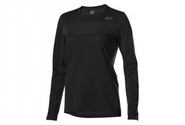 Fox Women Ranger Dri-Release Long Sleeves Jersey Black
