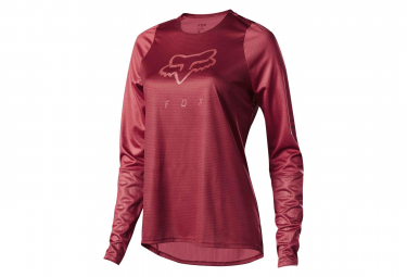 Fox Women Defend Long Sleeves Jersey Cardinal