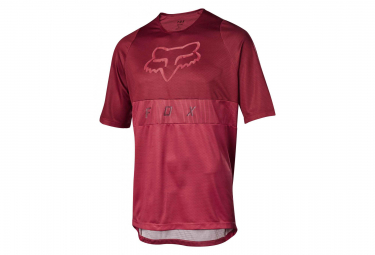 Maillot Manches Courtes Fox Defend Moth Bordeaux