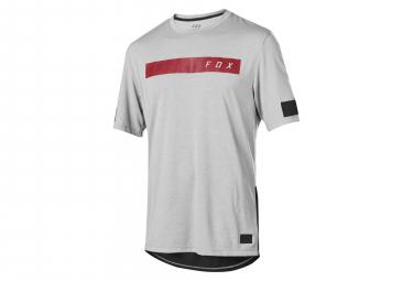 Fox Ranger Dri-Release Short Sleeves Bar Jersey Grey