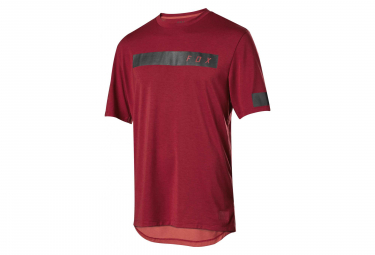 Fox Ranger Dri-Release Short Sleeves Bar Jersey Cardinal