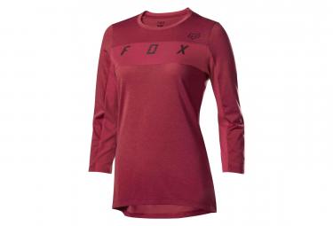 Fox Women Ranger Dri-Release 3/4 Jersey Cardinal