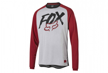 Fox Youth Ranger Dri-Release Long Sleevers Jersey Grey