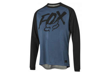 Fox Ranger Dri-Release Fox Long Sleevers Jersey Blue