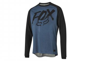 Maillot Manches Longues Fox Ranger Dri Release Bleu
