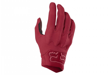 Fox Defend D3O Long Glove Cardinal