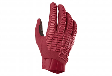 Fox Defend Long Glove Cardinal