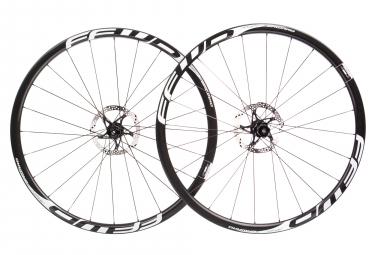Juego de ruedas Fast Forward F3D FCC Carbon DT350 SP | 12x100 - 12x142mm | Cuerpo Shimano / Sram | Blanco negro