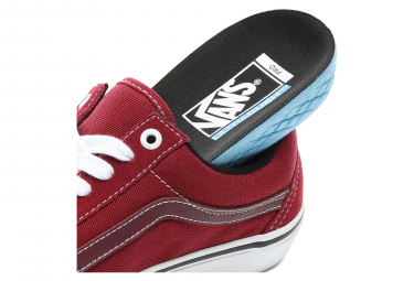 Chaussures Vans Old Skool Pro Rumba Rouge