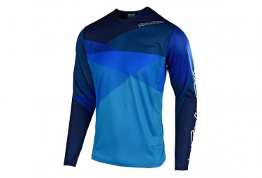 TROY LEE DESIGNS Sprint Kids Long Sleeve Jersey Jet Blue