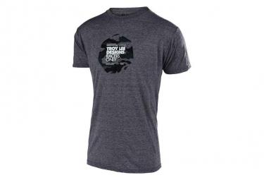 TROY LEE DESIGNS Flowline Race Camo Salt Pepper T-Shirt