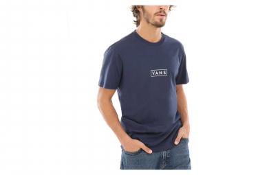 T-Shirt Manches Courtes Vans Easy Box Bleu