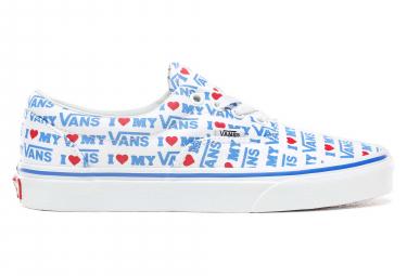 Chaussures Vans UA Era I Heart Blanc / Bleu