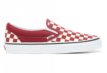 Sneaker Vans Vans UA Classic Slip-On Checker rojo / blanco