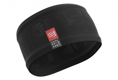 Bandeau Tête Compressport HeadBand On/Off Noir Unisex