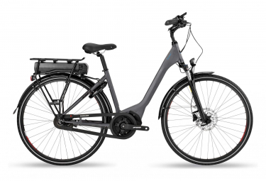 VTC Électrique BH Rebel Diamond Wave  Shimano Nexus 8V Gris / Bleu 2019