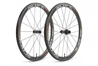 Road Wheelset Scope R4C 45 mm (Width 26 mm) | 9x100 - 9x130mm | Body Shimano/Sram