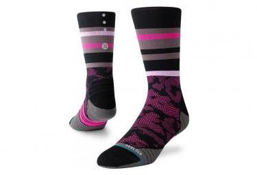 Stance Socks Trackstand Crew Nero / Rosa