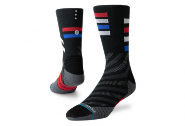 Stance Travel Crew Socks Black