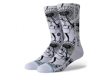 Stance Socks Kimono White / Black