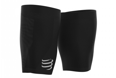 Manchons Cuisse Compressport Under Control Quad Noir Unisex