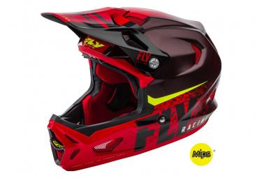 Full face Helmet FLY Racing Werx MIPS Black / Red