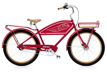 **Produit Reconditionné** ELECTRA Beach Cruiser DELIVERY 3I Red