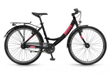 Vélo Enfant Enfant Winora Chica 26'' Noir / Rose 9 ans et +