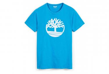 Timberland SS T-Shirt Brand Reg Tree Light Blue