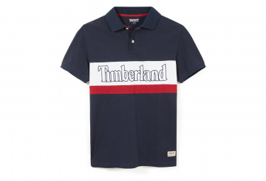 Polo Manches Courtes Timberland Millers River Noir