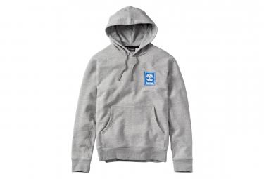 Timberland Hoodie Crew Stack Logo Grey