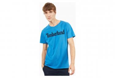 T-Shirt Manches Courtes Timberland Brand Reg Bleu