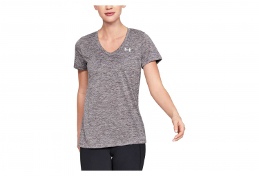 Under Armour Twist Tech Women Short Sleeves Jersey Grey