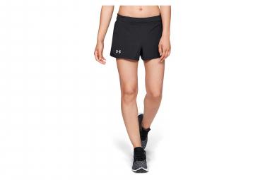Pantalones cortos para mujer Under Armour Speedpocket negros