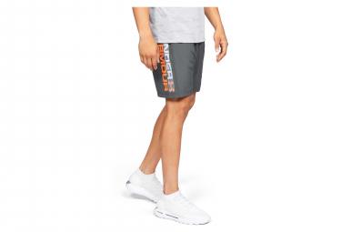 Pantalones cortos de marca de Under Armour Woven Graphic Grey Naranja