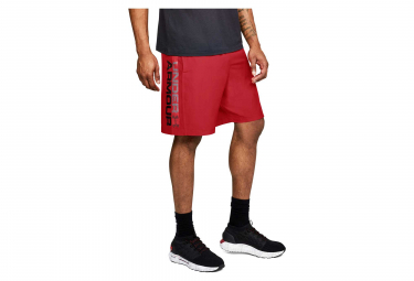 Under Armour Woven Graphic Wordmark Shorts Rojo