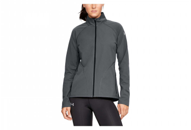 Under Armour Storm Launch Graphic Mujer Resistente al agua Chaqueta Gris