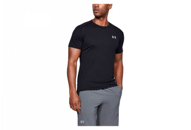 Under Armour Streaker Short Sleeves Jersey Black