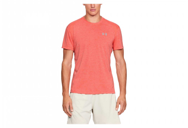 Under Armour Streaker Twist Short Sleeves Jersey Orange