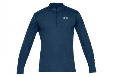 Under Armour Streaker Half Zip Long Sleeves Jersey Navy Blue
