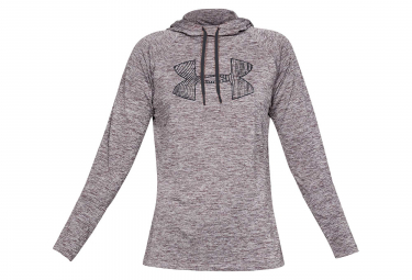 Under Armour Tech 2.0 Graphic Women Hoodie Sweat Grey