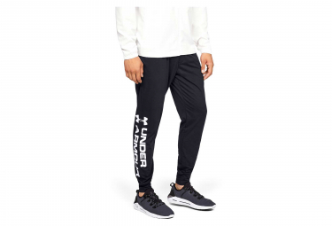 Pantalon Under Armour Sportstyle Cotton Graphic Noir