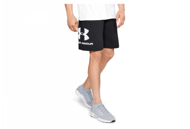 Short Under Armour Sportstyle Cotton Graphic Noir