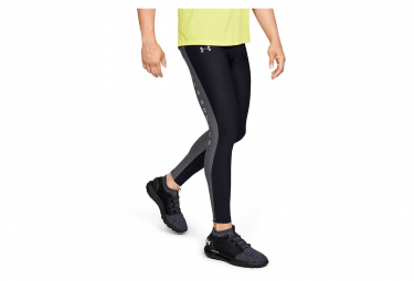 Under Armour Qualifier Graphic Long Tights Black Grey