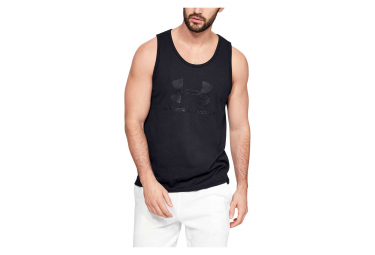 Under Armour Sportstyle Logo Tank Top Black