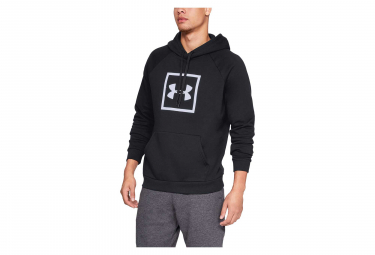 Under Armour Rival Fleece Logo Hoodie Sweat Black