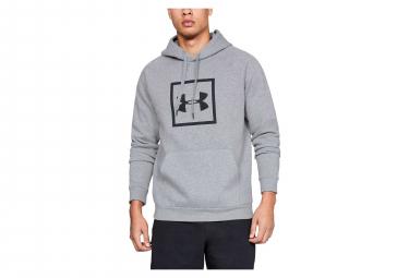 Under Armour Rival Fleece Logo Felpa con cappuccio Sweat Grigio