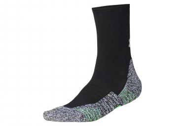 Paire de Chaussettes Under Armour Run Cushion Crew Noir