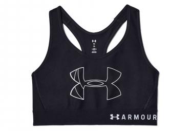 Reggiseno Sportivo Under Armour Armor Mid Big Logo Nero
