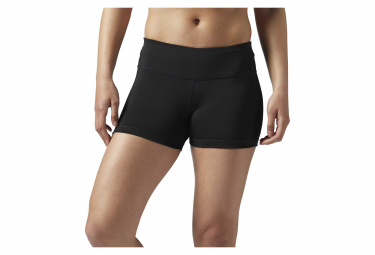 Reebok Workout Ready Hot Women Mini Shorts Negro